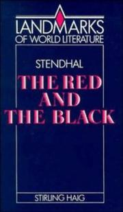 Cover of: Stendhal by Stirling Haig