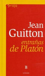 Cover of: Entranas de Platon | Jean Guitton