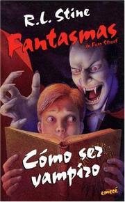 Cover of: Cómo sez vampiro | Katy Hall