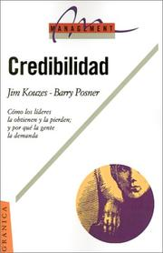 Cover of: Credibilidad | James M. Kouzes