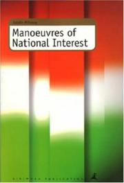 Cover of: Manoeuvres of national interest by Katalin Miklóssy