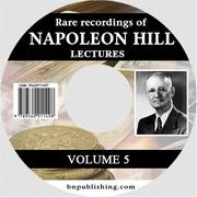 Cover of: Rare Recordings of Napoleon Hill Lectures, Vol. 5 (of 9) | Napoleon Hill