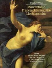 Cover of: Marcantonio Franceschini and the Liechtensteins | Dwight C. Miller