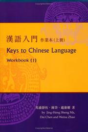 Cover of: Keys to Chinese Language | Stein Ugelvik Larsen