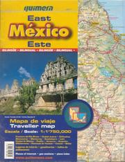 Cover of: Mexico East Traveller Map by Quimera | Quimera Editores