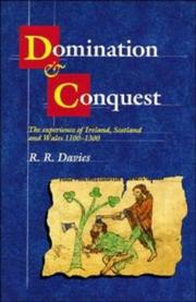 Cover of: Domination and conquest | R. R. Davies
