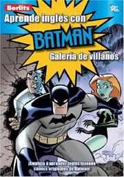 Cover of: Aprende Ingles Con Batman/ Learn English With Batman by Scott Peterson