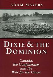 Cover of: Dixie & the Dominion by Adam Mayers
