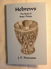 Cover of: Hebrews | JP Timmons