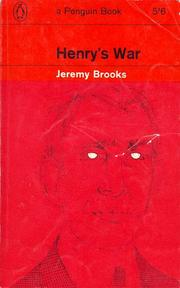 Cover of: Henry's war | Jeremy Brooks