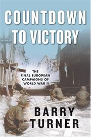 Cover of: Countdown to victory | Turner, Barry
