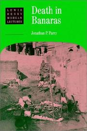 Cover of: Death in Banaras by Jonathan P. Parry