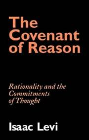 Cover of: The covenant of reason | Isaac Levi