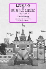 Cover of: Russians on Russian Music, 18801917 by Stuart Campbell