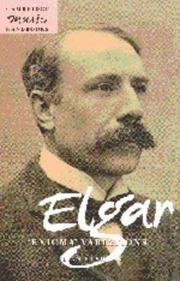 Cover of: Elgar, Enigma variations | Julian Rushton