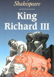 Cover of: King Richard III by William Shakespeare