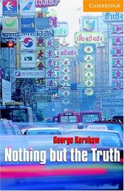 Cover of: Nothing but the truth | George Kershaw