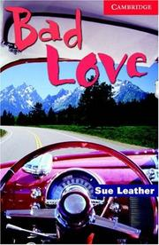 Cover of: Bad Love Book and Audio CD Pack | Sue Leather