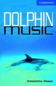 Cover of: Dolphin Music Book and Audio CD Pack | Antoinette Moses