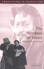 Cover of: The Merchant of Venice (Shakespeare in Production) | William Shakespeare
