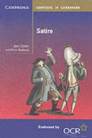 Cover of: Satire | Jane Ogborn