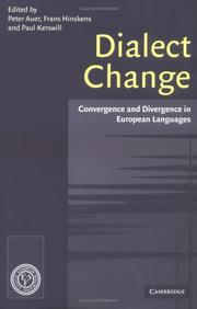 Cover of: Dialect change | Auer, Peter, Frans Hinskens, Paul Kerswill