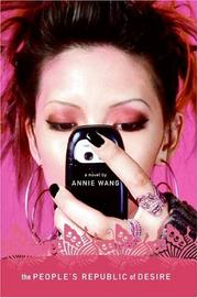 Cover of: The People's Republic of Desire | Annie Wang