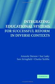 Cover of: Integrating Educational Systems for Successful Reform in Diverse Contexts | Charles Teddlie