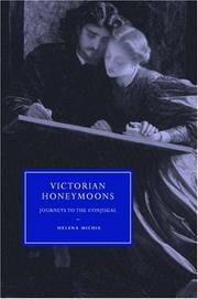 Cover of: Victorian Honeymoons by Helena Michie