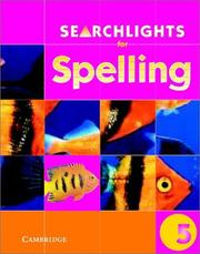 Cover of: Searchlights for Spelling Year 5 Pupil's Book (Searchlights for Spelling) | Pie Corbett