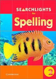 Cover of: Searchlights for Spelling Year 2 Big Book (Searchlights for Spelling) | Pie Corbett