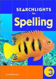 Cover of: Searchlights for Spelling Year 3 Big Book (Searchlights for Spelling) | Pie Corbett