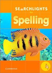 Cover of: Searchlights for Spelling Year 4 Big Book (Searchlights for Spelling) | Pie Corbett