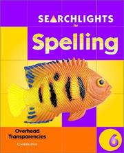 Cover of: Searchlights for Spelling Year 6 Overhead Transparencies (Searchlights for Spelling) by Pie Corbett