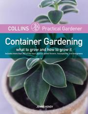 Cover of: Collins Practical Gardener: Container Gardening by Jenny Hendy