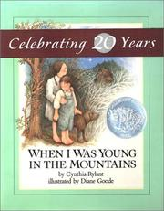 Cover of: When I Was Young in the Mountains | Cynthia Rylant