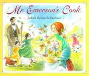 Cover of: Mr. Emerson's Cook | Judy Schachner