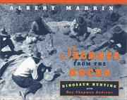 Cover of: Secrets from the Rocks | Albert Marrin