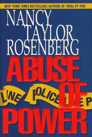 Cover of: Abuse of power | Nancy Taylor Rosenberg