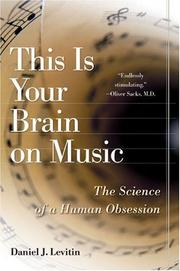 Cover of: This Is Your Brain on Music | Daniel J. Levitin
