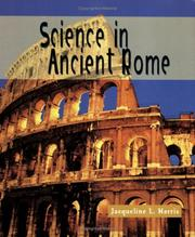 Cover of: Science in Ancient Rome (Science of the Past) | Jacqueline L. Harris