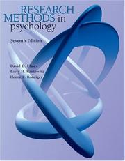 Research methods in psychology by David G. Elmes, Henry L. Roediger, Barry H. Kantowitz