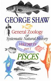 Cover of: General Zoology or Systematic Natural History by George Bernard Shaw