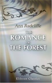 Cover of: The Romance of the Forest | Ann Ward Radcliffe