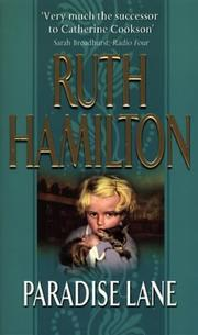 Cover of: Paradise Lane | Ruth Hamilton
