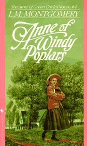 Cover of: Anne of Windy Poplars | Lucy Maud Montgomery
