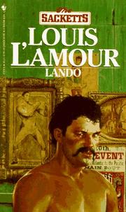 Cover of: Lando by Louis L'Amour