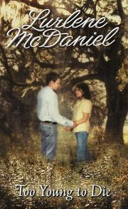 Cover of: Too Young to Die by Lurlene Mcdaniel