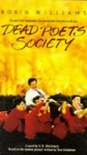 Cover of: Dead poets society | N. H. Kleinbaum