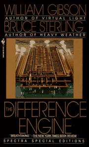 Cover of: The Difference Engine | William F. Gibson, Bruce Sterling